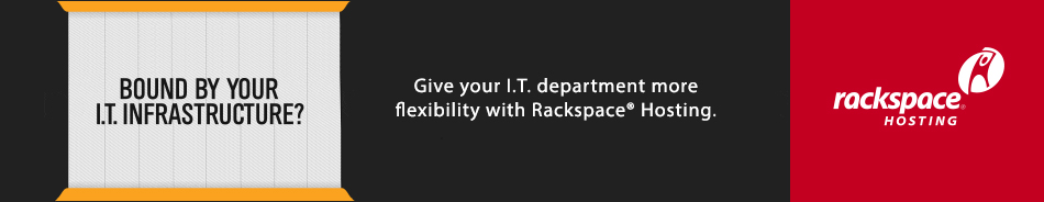 Give your I.T. department more flexibility with Rackspace® Hosting.